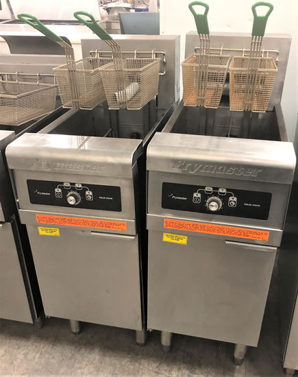 Frymaster Electric Deep Fryer with filtation system