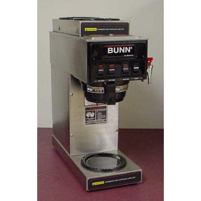BUNN 3 BURNER COFFEE MACHINE WITH HOT WATER TAP