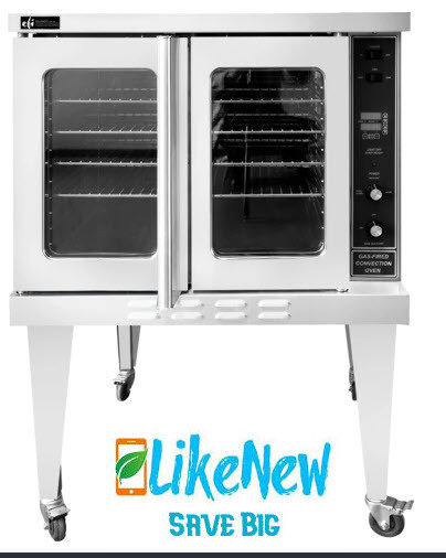 EFI Full Size Gas Convection ovens - - 2 available