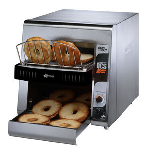 "STAR BAGEL FAST CONVEYOR TOASTER WITH 1 3/4"" OPENING"