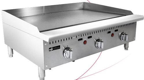 """36"""" flat top grill - thermostatically controlled"""