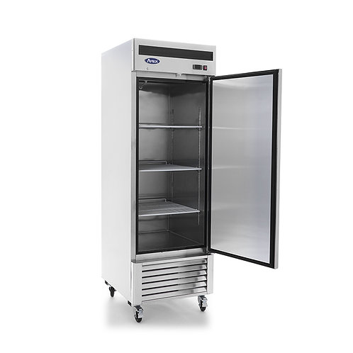 Single solid door freezer - BOTTOM MOUNT