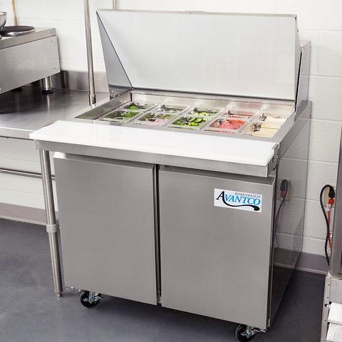 "36"" Mega Top Sandwich / Salad Prep Refrigerator"