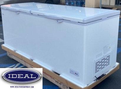 "Commercial Chest Freezer 24 cu foot - 77"""