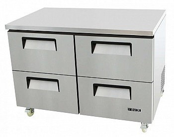 "48.2"" FOUR HALF-DOOR DRAWER-UNDERCOUNTER REFRIGERATOR"