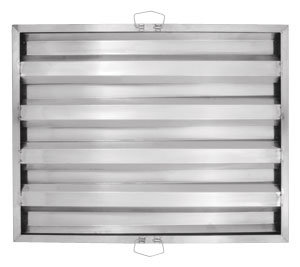 """20""""W x 25""""T Stainless Steel Hood Filter"""