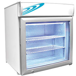 Excellence CTF-2MS Two Shelf Countertop Merchandiser Freezer - 120V