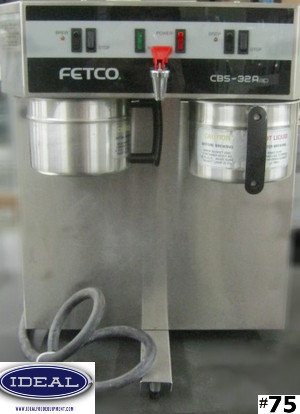 FETCO DOUBLE COFFEE BREWER