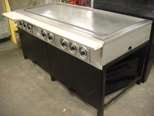 """76"""" WIDE ELECTRIC FLAT TOP  GRILL"""