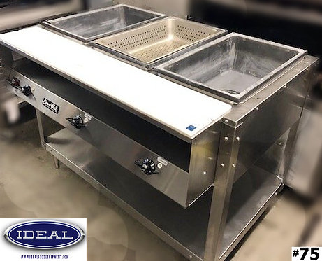 Vollrath 3 well hot food table