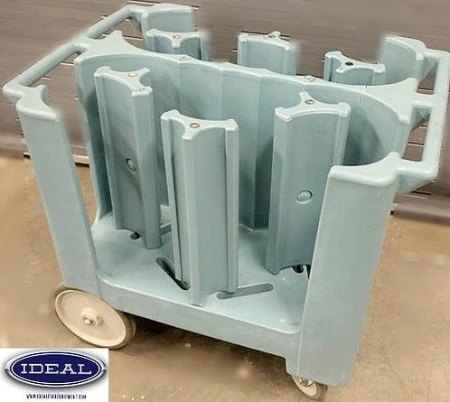 Cambro mobile dish cart - adjustable