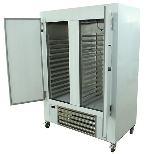 "48"" - 2 DOOR  -C/W BAKERY SLIDES - STAINLESS STEEL - MADE IN USA"