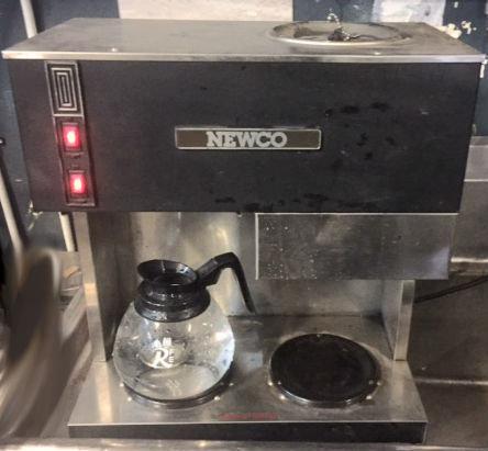 Newco pour over coffee machine