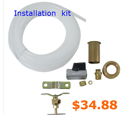 DIPPERWELL WATER INSTALLATION KIT