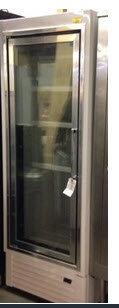 Hussman single glass door display freezer