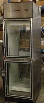 Coldstream Glass door pass thur refrigerator - clear both sides