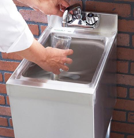 """1 Bowl Underbar Hand Sink - 18 3/4"""" x 12"""""""