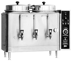 CECILWARE TWIN 3 GALLON CHINESE HOT TEA URN