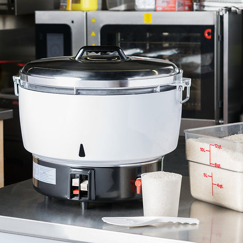 110 CUP RICE COOKER - GAS OR PROPANE