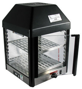 STAR COUNTERTOP HOT FOOD DISPLAY / MERCHANDISER WITH TWO SHELVES 120V, 350 WATTS