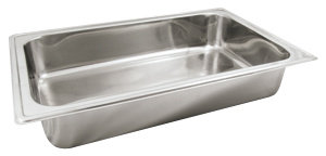 "4"" DEEP FULL-SIZE CHAFER WATER PAN"