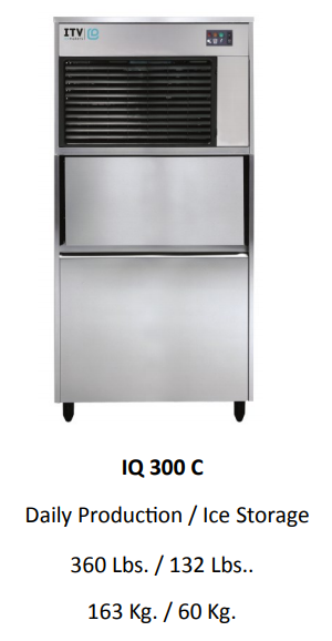 ICE QUEEN 300C UNDER COUNTER ICE MACHINE