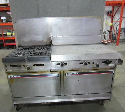 GARLAND GAS COMBO OVEN