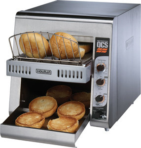 "STAR HOLMAN CONVEYOR TOASTER WITH 3"" OPENING FOR BAGELS"