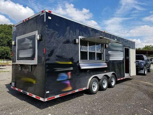 2017 Diamond Cargo Concession Trailer - Equipped