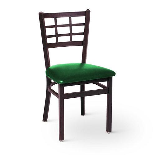 BFM Seating Marietta 2163CDBV-SB Metal Chair with Vinyl Seat - 6 colors