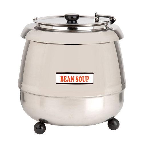 11 Qt. Soup Kettle Warmer Stainless Steel - 110V, 400W
