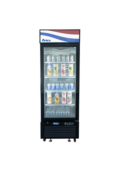 Single Glass Door Display Refrigerator