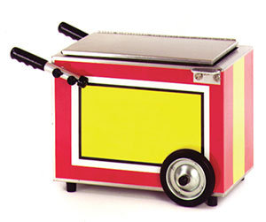 "EAGLE GROUP HOT DOG CART COUNTERTOP MERCHANDISER - 8 1/4"" x 11"""