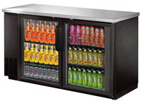 """Back Bar Coolers Narrow Depth 24.4"""" -  3 SIZES TO CHOOSE FROM"""