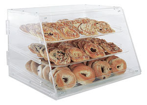 3 TIER PASTRY DISPLAY CASE - ACRYLIC