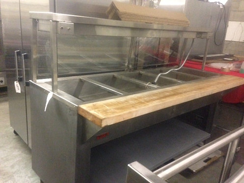 5 Compartment Hot Food Table