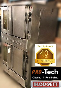 Blodgett double stacked Gas Convection Ovens