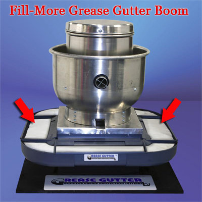 Grease - boom refill  for rooftop grease problems