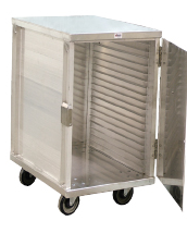 "ENCLOSED ALUMINUM CABINET - 20 SLIDES 36.5"" H"
