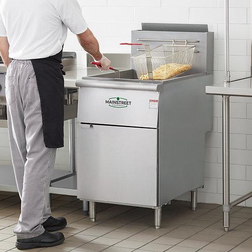 70/100 lb Natural Gas Deep Fryer