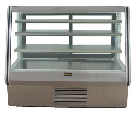 6' WIDE - HIGH BAKERY DISPLAY CASE - REFRIGERATED