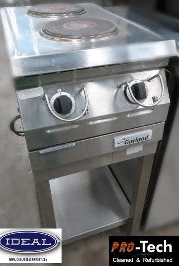Garland 2 burner electric counter top range