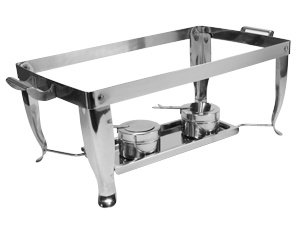 BUFFET ESSENTIALS STAINLESS STEEL FOLDING CHAFER FRAME