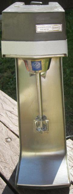 HAMILTON BEACH SINGLE DRINK MIXER
