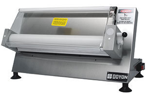 "DOYON COUNTERTOP 18"" DOUGH ROLLER SHEETER - ONE STAGE"
