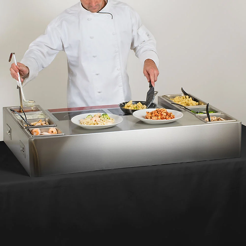 Induction Made-to-Order Omelet / Pasta Station