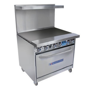 """Bakers Pride Restaurant  Gas 36"""" Grill & Oven"""
