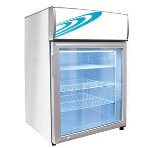 Excellence CTF-4MS Three Shelf Countertop Merchandiser Freezer - 120V