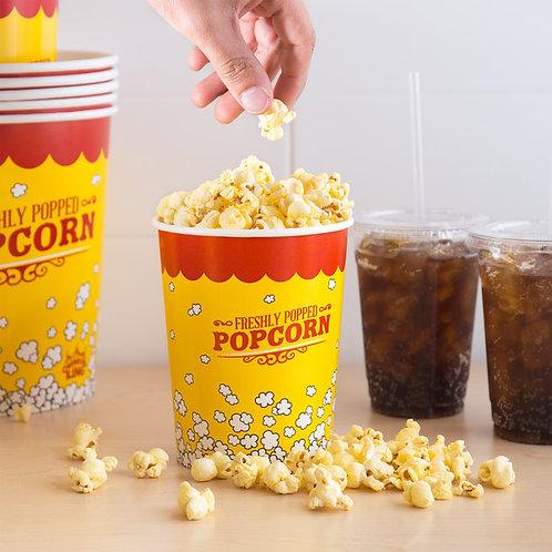 Carnival King 32 oz. Popcorn Cup - 500 / Case