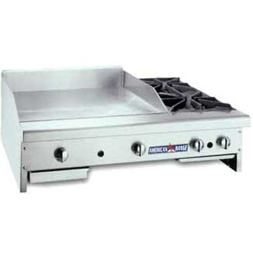 "American Range 36"" Griddle/Hotplate Combo Countertop Gas"